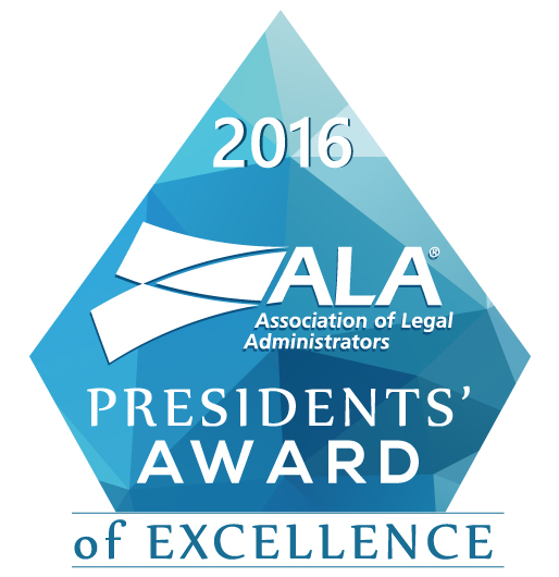 Presidents Award of Excellence 2016